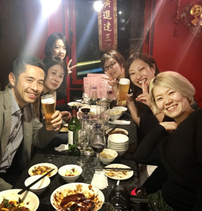 江口さん祝賀会&同窓会!